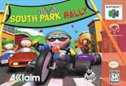 South Park Rally (USA) Box Scan
